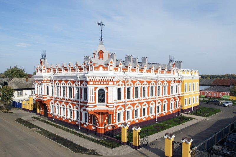 Здание ЛДЦ Камский доктор. Бывший дом Башенина