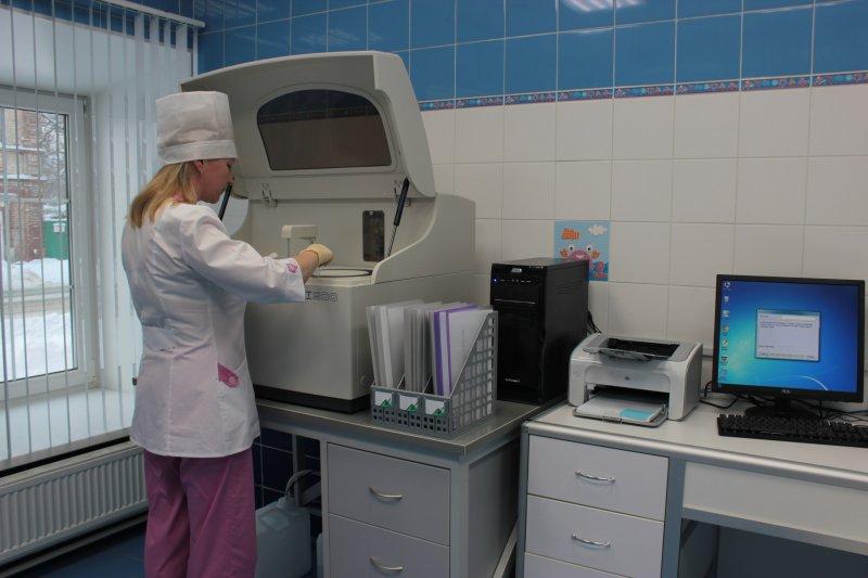 Камский доктор. Кабинет биохимического анализа