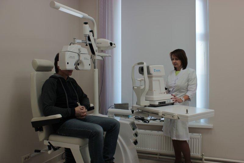 Камский доктор проверка зрения